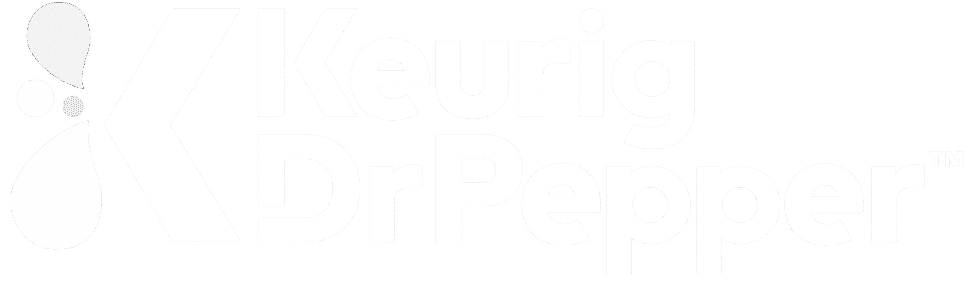 Keurig DrPepper while logo